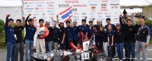 ผศ.ดร. วชรินทร์ แก้วอภิชัย ร่วมกับอาจารย์ภาควิชาวิศวกรรมเครื่องกล นำทีมนักศึกษาเข้าร่วม การแข่งขัน Student Formula 2018