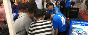 นักศึกษาภาควิชาวิศวกรรมคอมพิวเตอร์ร่วมเป็นคณะทำงานงาน SKA PAO ROV Championship 2019